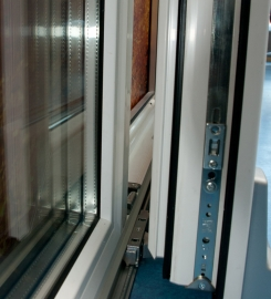 Tilt and slide PVC terrace door Softline PSK 70