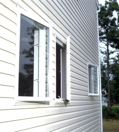 Scandinavian PVC window VEKA Danline 70/116